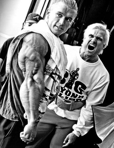 Lee Priest. Thanks to the Diesel Crew for the photo from their site: