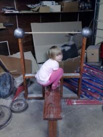 Benching, Not Squatting!